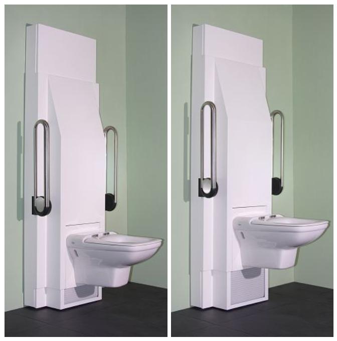 ein elektrisch h henverstellbares wc bietet gr tm glichen komfort f r alles nutzer des badezimmers. Black Bedroom Furniture Sets. Home Design Ideas