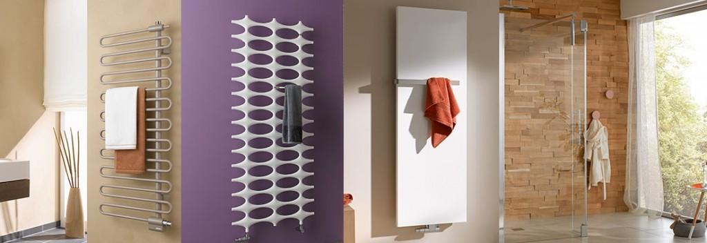 Moderne Heizkörper für das Badezimmer können bewusst als Stilmittel und Design-Element eingesetzt werden.