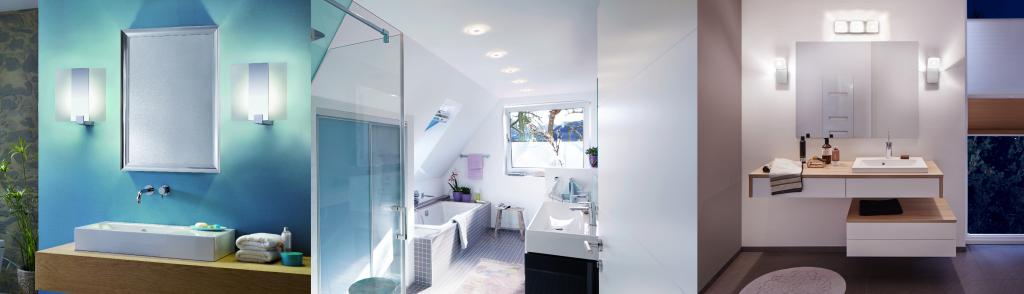 Abbildung 8: Helles Licht im Bad ist praktisch, strahlt Reinheit aus und vergrößert den Raum sogar optisch.